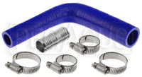 Click for a larger picture of Silicone Hose Kit, Ford F150 5.0 / EcoBoost Reservoir, Blue