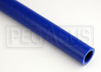 Click for a larger picture of Blue Silicone Hose, Straight, 1 1/8 inch ID, 1 Meter Length