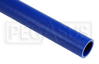 Click for a larger picture of Blue Silicone Hose, Straight, 1 1/4 inch ID, 1 Meter Length