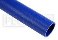 Click for a larger picture of Blue Silicone Hose, Straight, 2 inch ID, 1 Foot Length