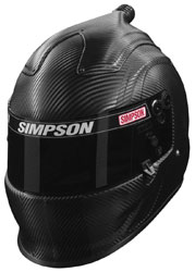 Click for a larger picture of Simpson Air Inforcer Vudo Carbon Racing Helmet, Snell 2015