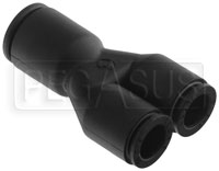 Click for a larger picture of SPA Design Y Connector, 10mm to 8mm Dekabon Tubing