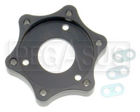 Click for a larger picture of European Quick Release to OMP / Momo Wheel Adapter