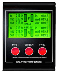 Click for a larger picture of SPA Digital Tire Pyrometer