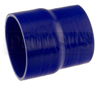 Click for a larger picture of Blue Silicone Hose, 4 1/2 x 4.00 inch ID Straight Reducer