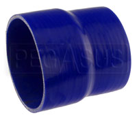 Click for a larger picture of Blue Silicone Hose, 5.00 x 4 1/2 inch ID Straight Reducer