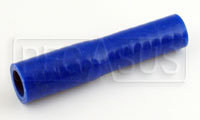 Click for a larger picture of Blue Silicone Hose, 5/8 x 1/2 inch Straight Reducer