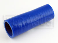 Click for a larger picture of Blue Silicone Hose, 1 1/4 x 1 1/8 inch Straight Reducer