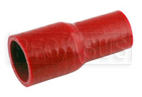 Click for a larger picture of Red Silicone Hose, 1 1/2 x 1 1/8 inch Straight Reducer