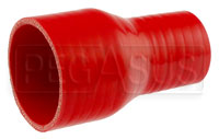 Click for a larger picture of Red Silicone Hose, 2 3/4 x 1 3/4 inch Straight Reducer