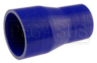 Click for a larger picture of Blue Silicone Hose, 2 3/4 x 2.00 inch Straight Reducer