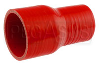 Click for a larger picture of Red Silicone Hose, 2 3/4 x 2.00 inch ID Straight Reducer