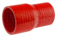 Click for a larger picture of Red Silicone Hose, 2 3/4 x 2 1/4 inch ID Straight Reducer