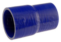 Click for a larger picture of Blue Silicone Hose, 2 3/4 x 2 1/2 inch ID Straight Reducer