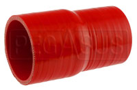 Click for a larger picture of Red Silicone Hose, 2 3/4 x 2 1/2 inch ID Straight Reducer