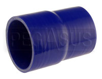 Click for a larger picture of Blue Silicone Hose, 3 1/4 x 3.00 inch ID Straight Reducer