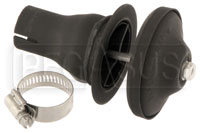 "Click for a larger picture of SuperTrapp 1.00"" Clamp-On Flange with End Cap for 3S Series"