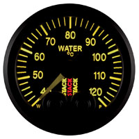 Click for a larger picture of Stack Pro-Control Water Temperature Gauge, 40-120 C