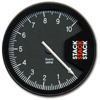 """Click for a larger picture of Stack Series ST430 Professional Tachometer, 5"""""""