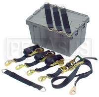 Click for a larger picture of Race Car Tie Down Kit (specify tie down length)