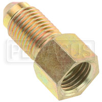 Click for a larger picture of Tilton 3/8-24 Inverted Flare Female to 3AN Male Adapter