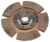 "Click for a larger picture of Tilton 5.5"" OT-3 Disc, Cerametallic Rally, Std Hub,7/8 x 20"