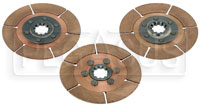 "Click for a larger picture of Tilton 5.5"" 3-Disc Clutch Pack, Metallic, 29mm x 10 Spline"