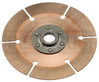 """Click for a larger picture of Tilton OT-2 Clutch Disc, 7.25"""", 1 x 24 Spline, Early Nissan"""