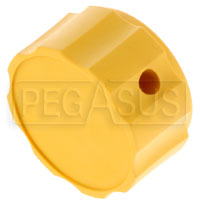 Click for a larger picture of Plastic Knob Only (Yellow) for Tilton Remote Adjuster Cables