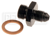 Click for a larger picture of Tilton 4AN Inlet Fitting, 77 Series Master Cylinder