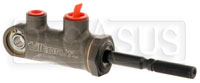 "Click for a larger picture of Tilton 77-series Master Cylinder, Pivot Type 7/10"" Bore Size"