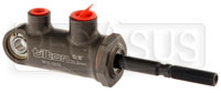 "Click for a larger picture of Tilton 77-series Master Cylinder, Pivot Type 13/16"" Bore"