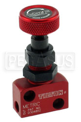 Click for a larger picture of Tilton Knob Style Proportioning Valve - 10mm x 1.0 Thread