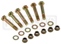 Click for a larger picture of Tilton Clutch Bolt Kit, 2-Disc, Pot Flywheel w Through Holes