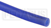 """Click for a larger picture of Blue Silicone Vacuum Hose, 4mm (5/32"""") ID, sold per foot"""
