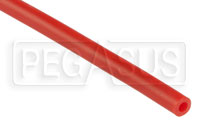 "Click for a larger picture of Red Silicone Vacuum Hose, 5mm (3/16"") ID, sold per foot"