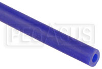 "Click for a larger picture of Blue Silicone Vacuum Hose, 5mm (3/16"") ID, sold per foot"