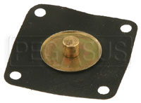 Click for a larger picture of Accelerator Pump Diaphragm Assembly, Late Model Weber IDF