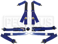 Click for a larger picture of Willans Club 6 Single Seater FHR Harness, 2/2, FIA, 2024 exp