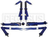 Click for a larger picture of Willans Silverstone 6 Single Seat FHR Harness, 2/2, FIA-2024