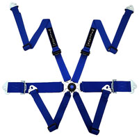 Click for a larger picture of Willans Silverstone 6 Sedan FHR Harness, 2x3, FIA