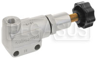 Click for a larger picture of Wilwood Knob Style Proportioning Valve, M10 x 1.0 Concave