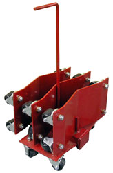 Click for a larger picture of Auto Dolly Rolling Rack