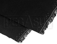 Click for a larger picture of Nomex Material, Black, 60 inch wide (per linear foot)