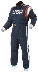 Click for a larger picture of OMP Defender Suit, 2 Layer Nomex, FIA 8856-2000