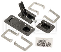 Click for a larger picture of AeroCatch 3 Plus Flush Mount Panel Latches, Set of 2