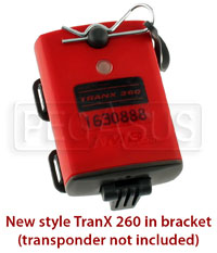 Click for a larger picture of Tran X 260 / 160 Bracket & Clip for New-Style Rechargeable