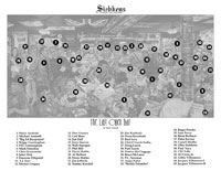 """Click for a larger picture of """"Siebkens - The Last Open Bar""""  18 x 32 inch Color Print"""
