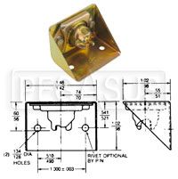 Click for a larger picture of Camloc 4002 Series Side Mount Receptacle (.06 Float)