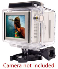 Click for a larger picture of GoPro Hero Cam LCD BacPac, for HD Hero/Hero2 only
